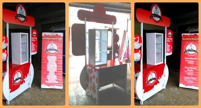 Booth Portable susu,Booth Lipat,Meja Pameran