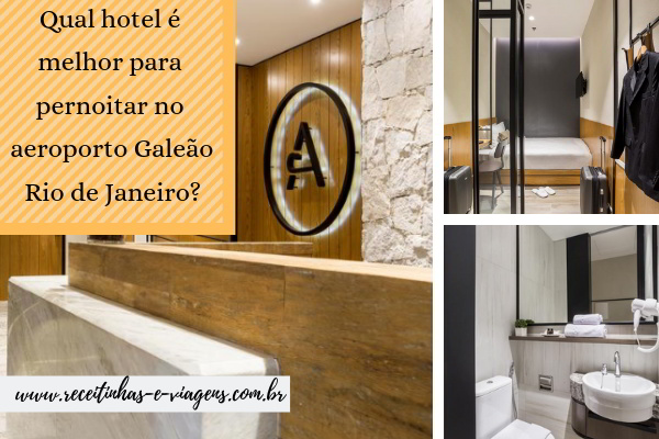 Hotel proximo aeroporto Galeao - Aerotel