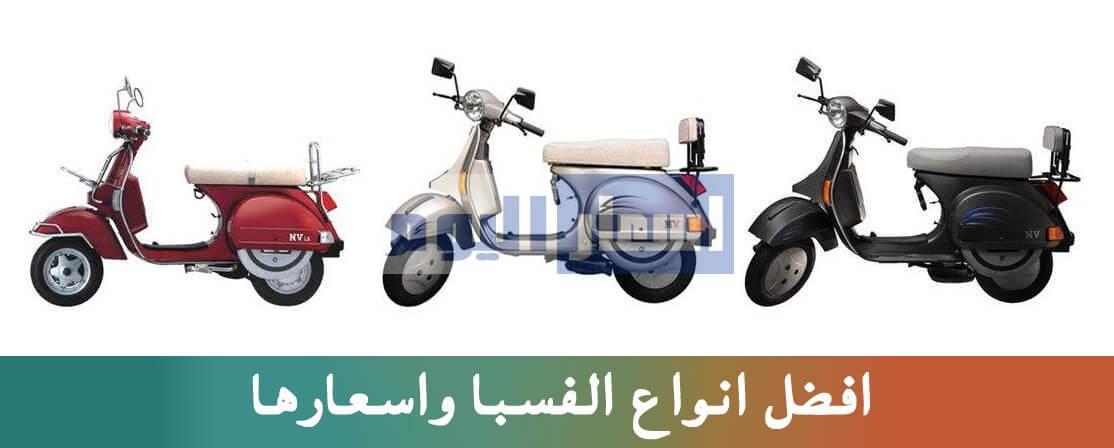 انواع الفسبا واسعارها فى مصر