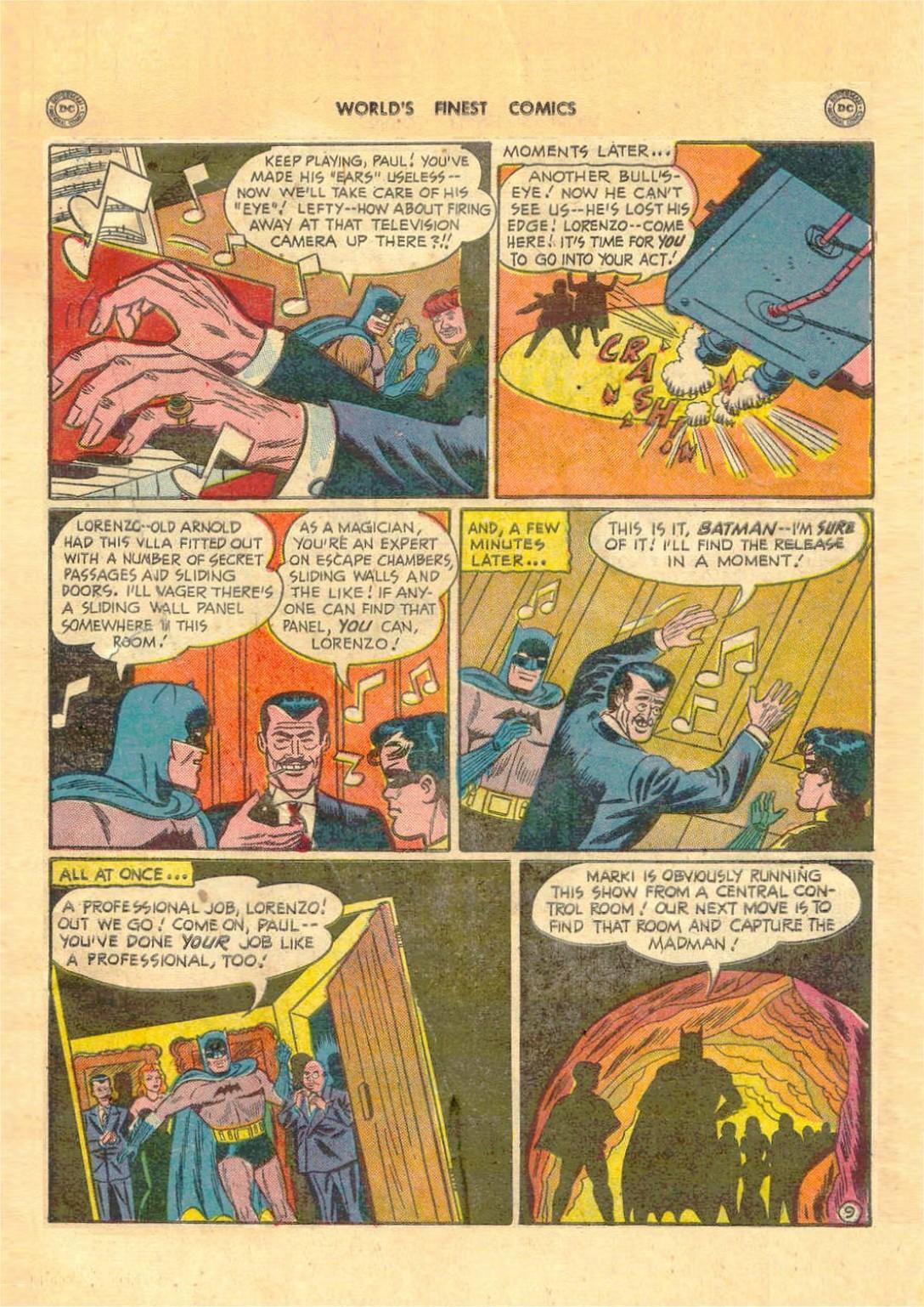 Read online World's Finest Comics comic -  Issue #52 - 71