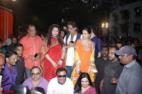 Shraddha Kapoor, Padmini Kolhapuri, Shakti Kapoor, Jackie Shroff, Asha Bhosle, Jitendra and other Bollywood Celebrities at Inauguration Of Pandit Padharinath Kolhapure Marg Exclusive  32 (8).JPG