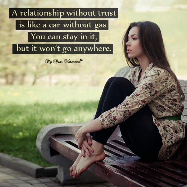 Trust Me Baby Sad Love Picture Quotes