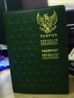 """Indonesian Paspor with Green Color"""
