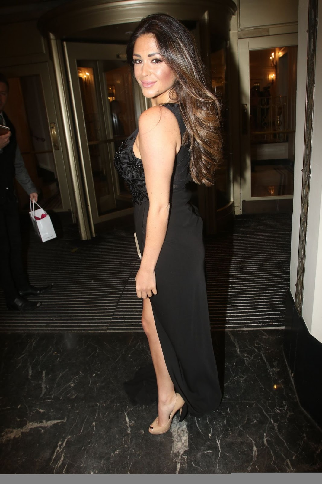 Casey Batchelor At Shooting Star Chase Tea Party In London