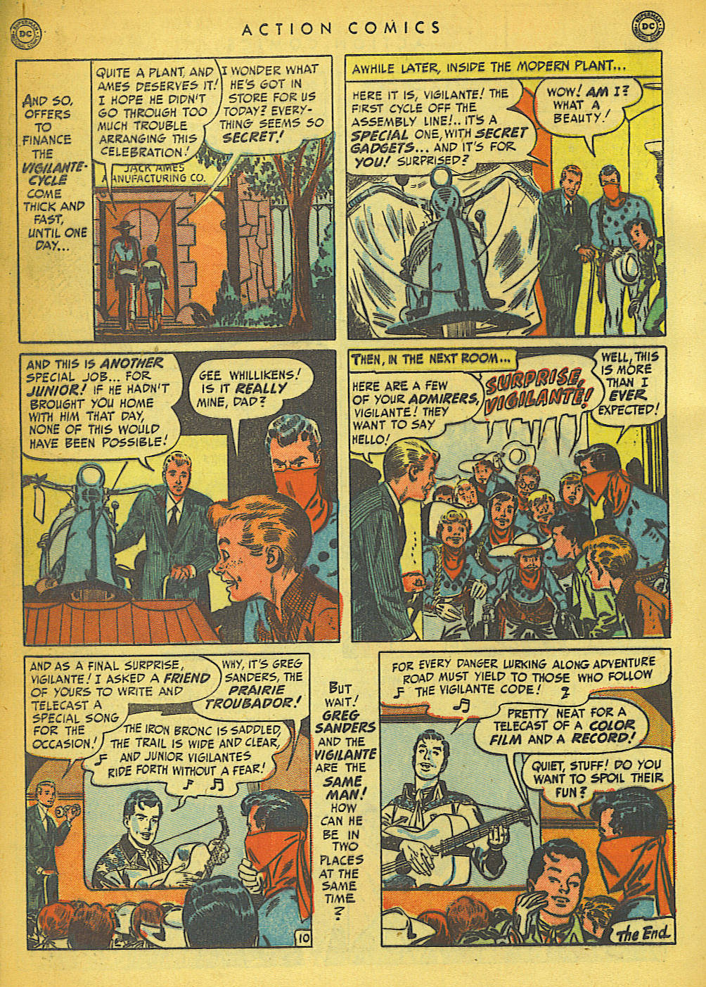 Read online Action Comics (1938) comic -  Issue #149 - 40