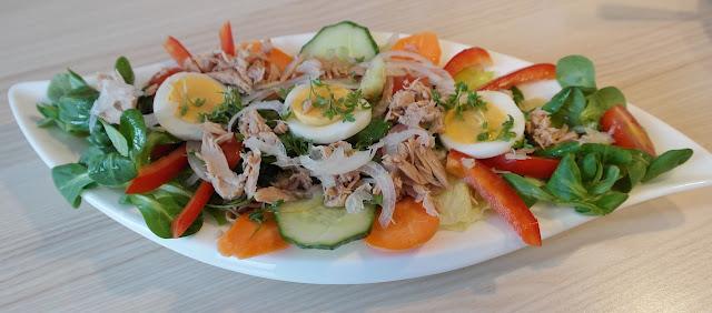 Shrimp Salad Can Help You Eat at a Calorie Deficit