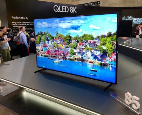 Televisores con tecnología 8K ya tienen precios