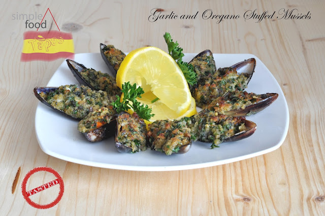 Garlic and Oregano Stuffed Mussels ~ Simple Food