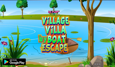 Knf Lovely Living Room Escape Walkthrough Partition Game Village Villa By Boat