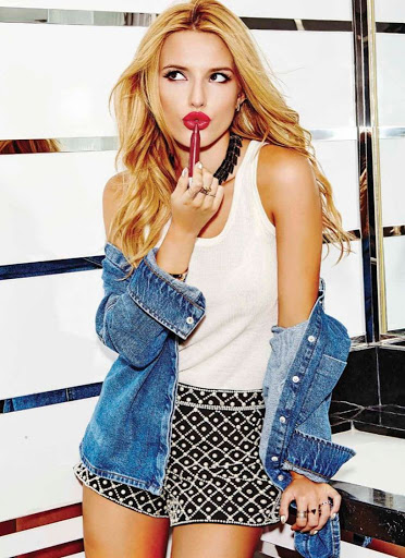 bella thorne beauty photo shoot models for seventeen magazine mexico