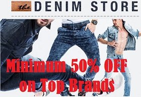 Minimum 50% Discount on Best Selling Brands Men's Jeans@ Amazon