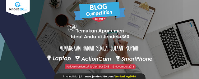 Contest Blog Competition Gratis 2018 Jendela360