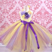 designer yellow tutu