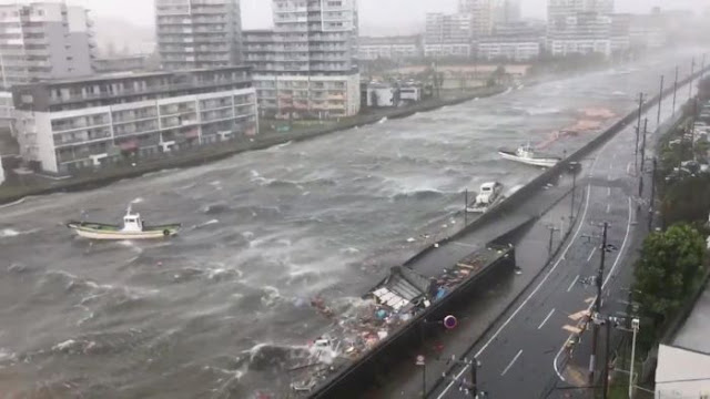 Japan's Strongest Typhoon In 25 Years Kills At Least Six