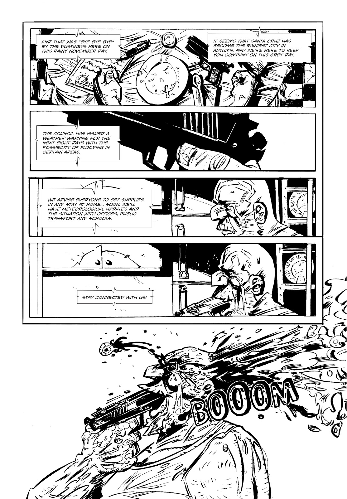 Read online Wrath of God comic -  Issue #1 - 8