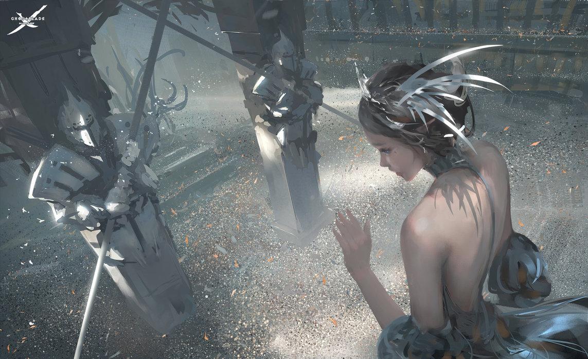 Sưu tập tranh ảnh đẹp nhất của Wlop (Wang Ling) | PHẦN 3