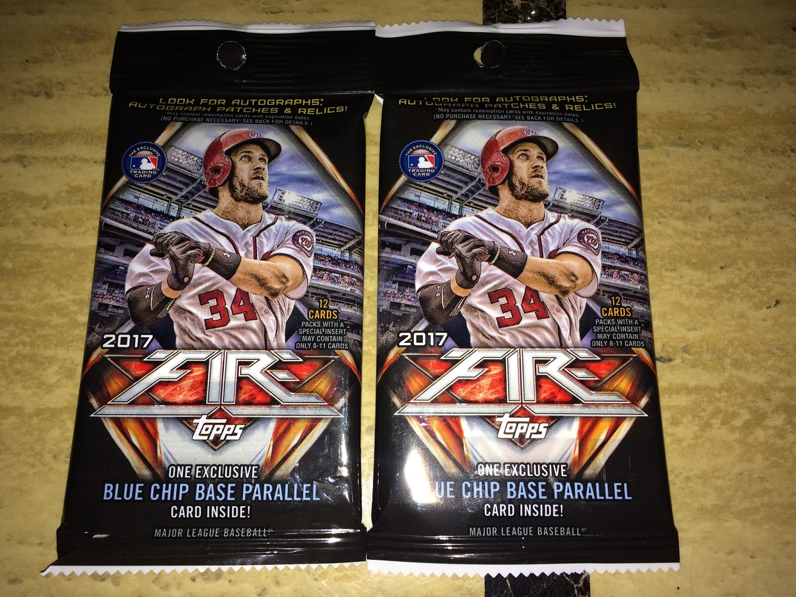 A Pack To Be Named Later: 2017 Topps Fire Fat Pack