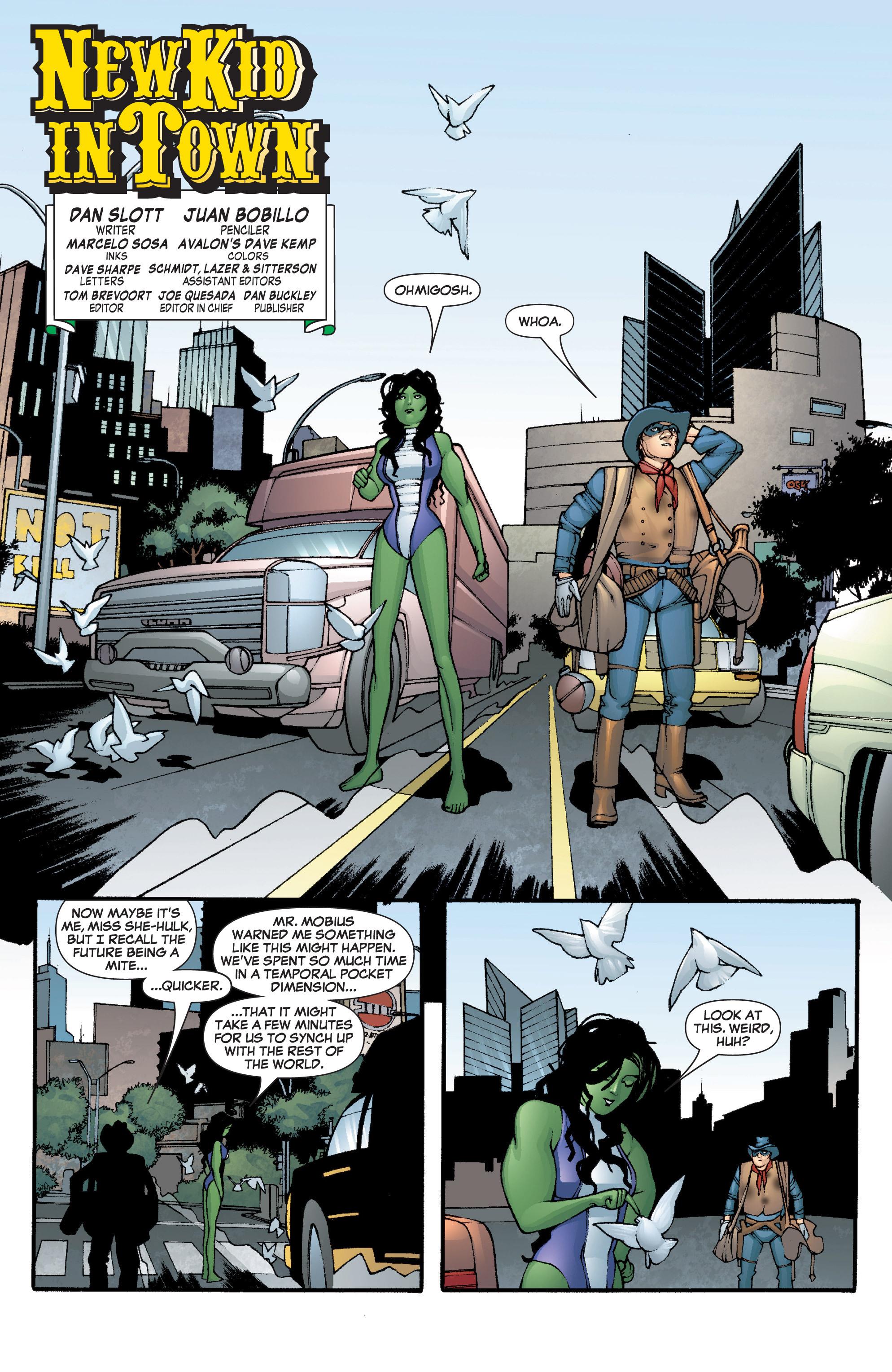 Read online She-Hulk (2005) comic -  Issue #5 - 5