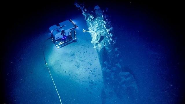Huellas de ensayos nucleares manchan el fondo oceánico