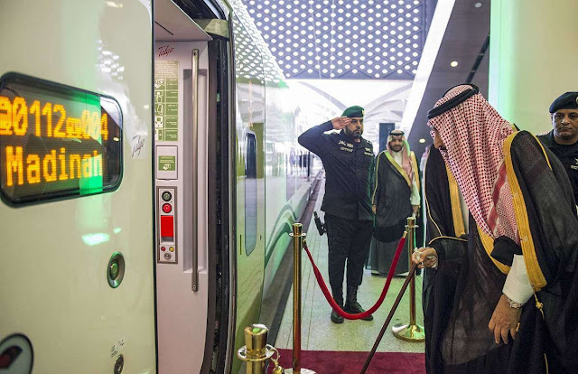 Saudi Arabia launches high-speed rail project linking Mecca with Medina