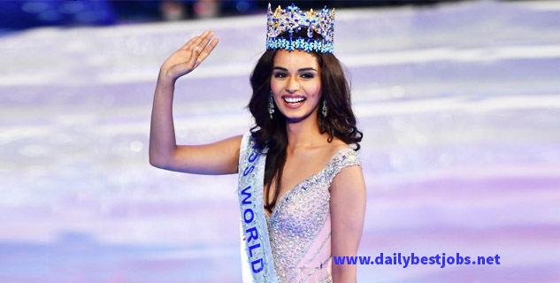 Manushi Chhillar Biography, Manushi Chhillar Wiki, Manushi Chhillar Miss World 2017, Miss India 2017