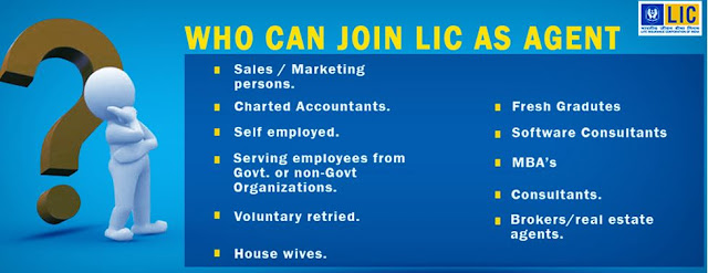 Who can join LIC as Agent
