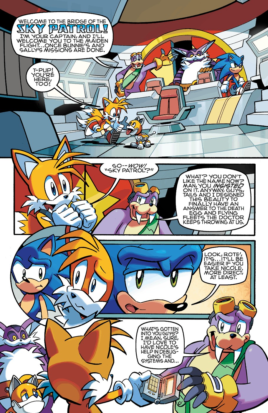 Read online Sonic The Hedgehog comic -  Issue #253 - 18