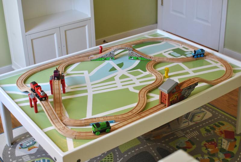Children S Train Table Plans Cottage Plans Under 500 Square