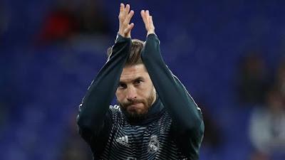 Kabar Baik untuk Madrid, Ramos Fit Lawan Girona