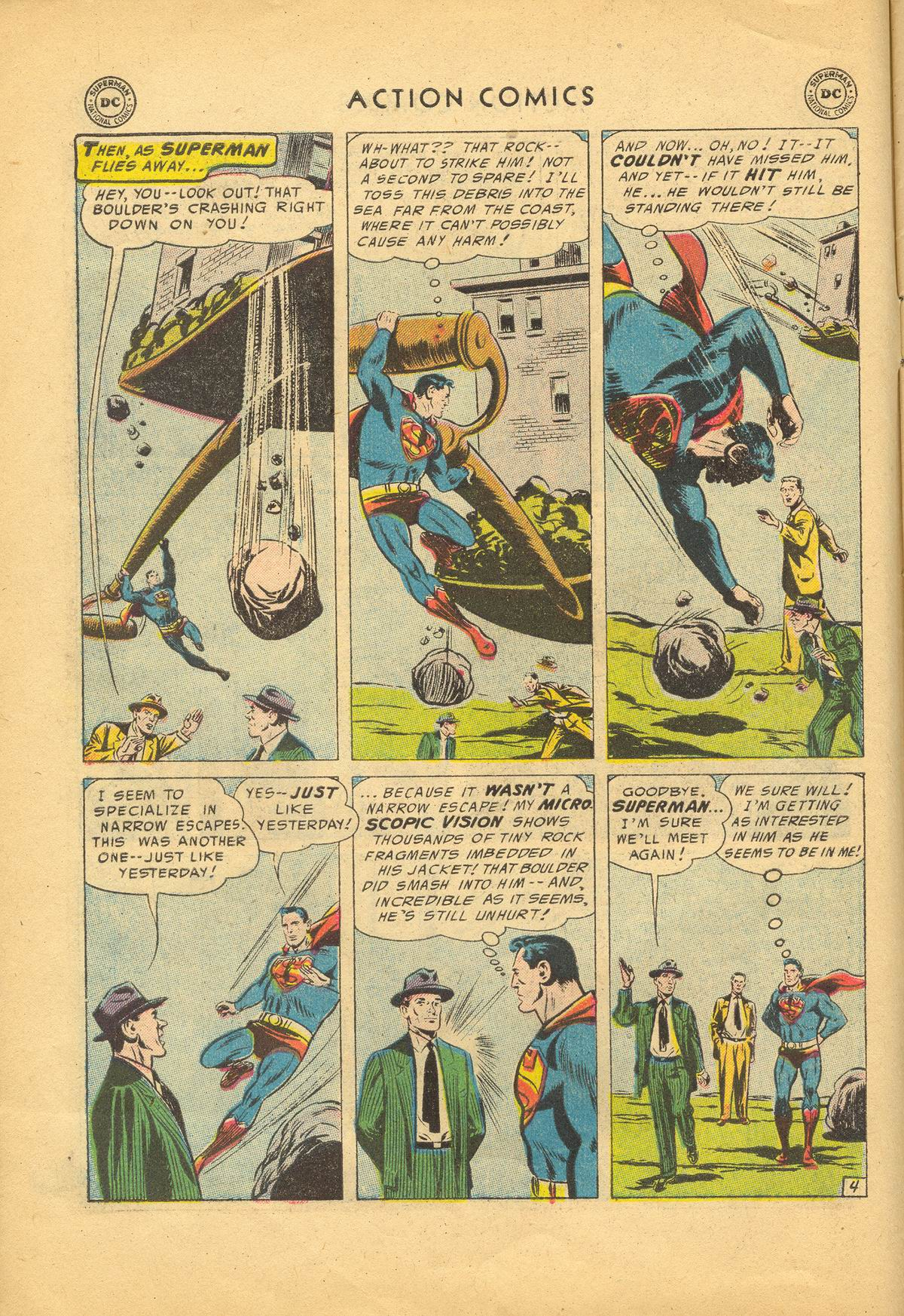 Read online Action Comics (1938) comic -  Issue #209 - 6