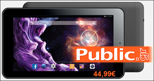 "4πύρονο, Tablet, eStar Mercury, HD, 7"" Ιντσών, 8GB, Public, Quad Core"