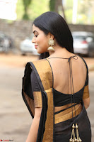 Poorna in Cute Backless Choli Saree Stunning Beauty at Avantika Movie platinum Disc Function ~  Exclusive 054.JPG
