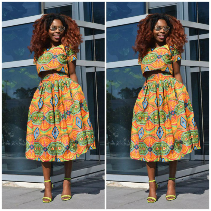 Latest Ankara Pleated skirt styles (7)