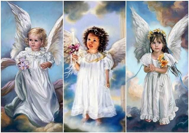Психологический тест: выбери ангела и прочитай от него послание