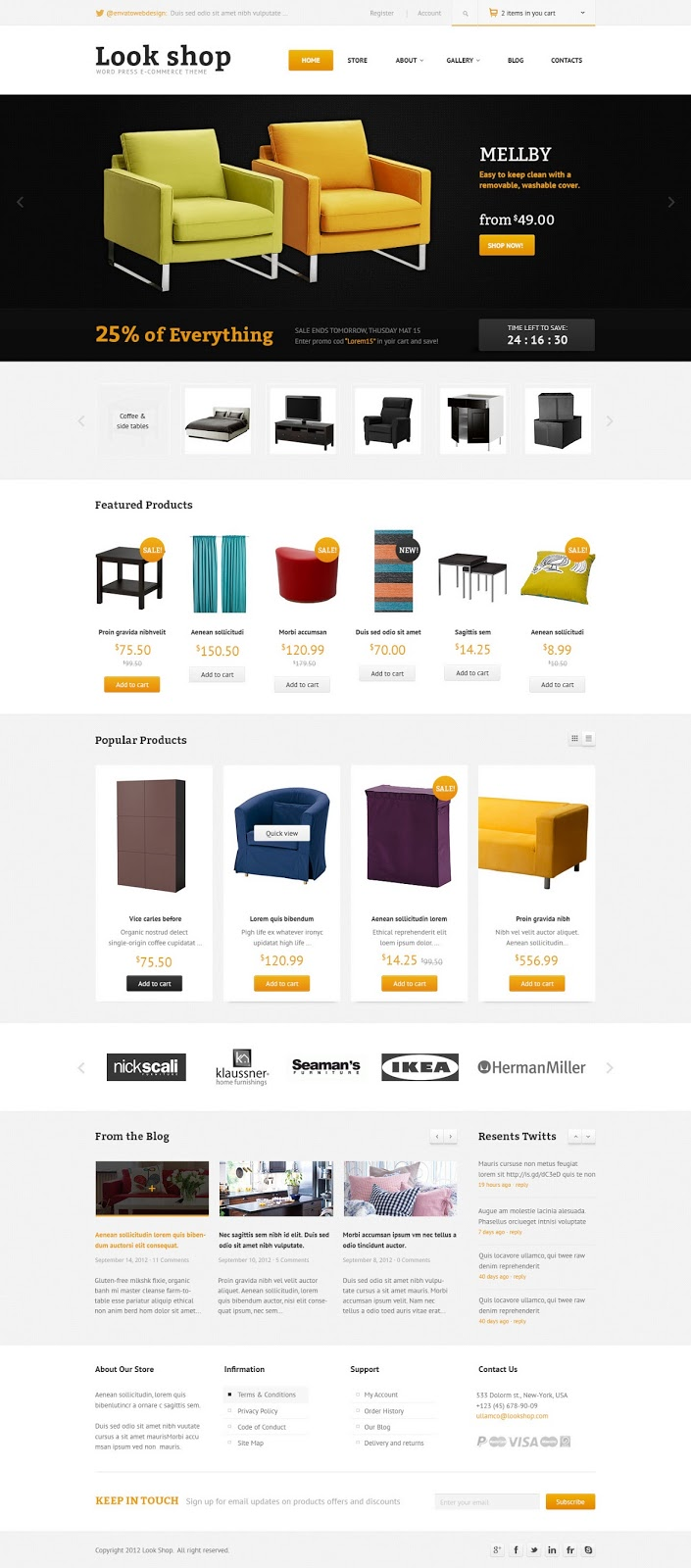 Lookshop - WordPress eCommerce Theme