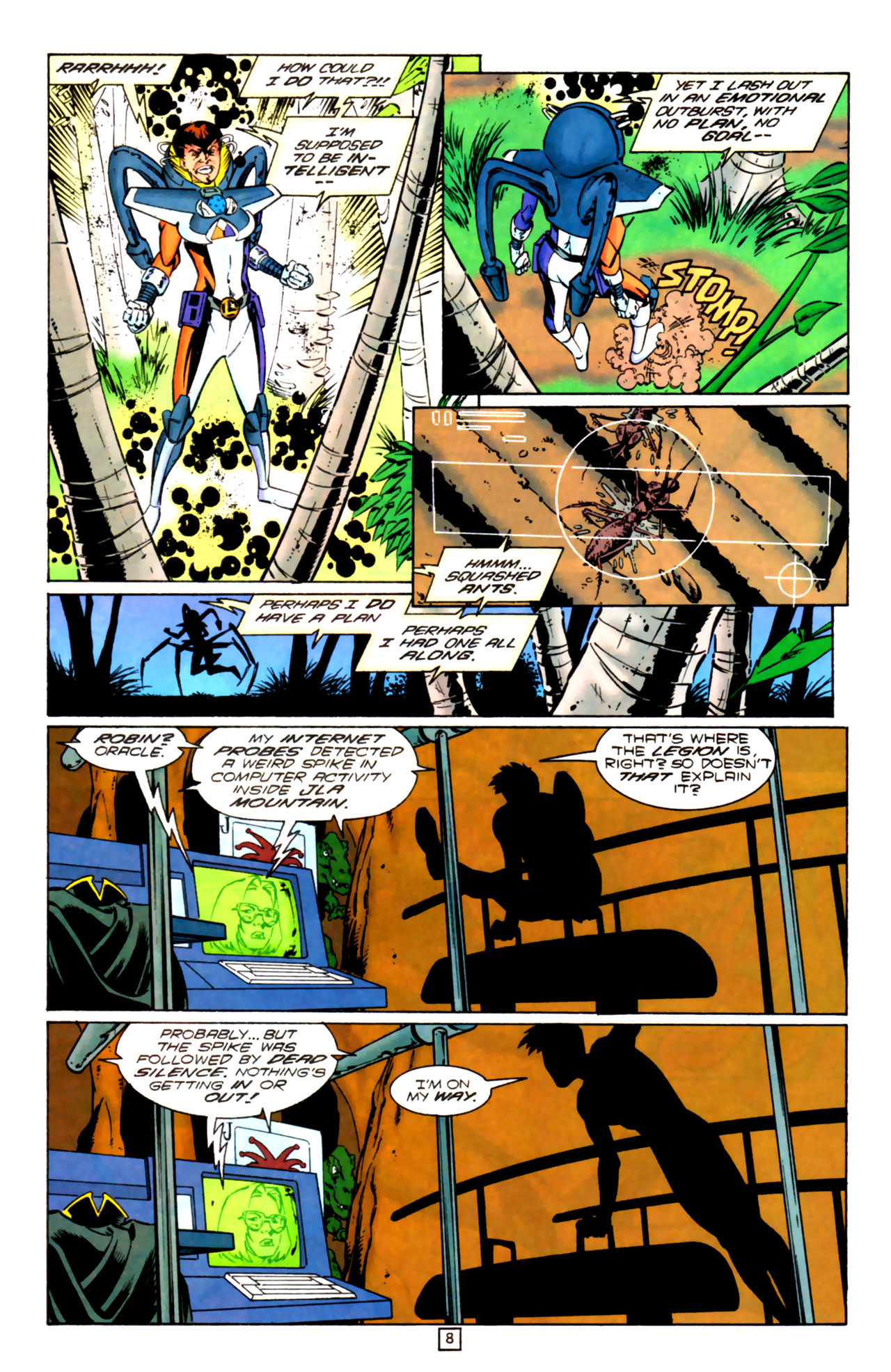 Legion of Super-Heroes (1989) 99 Page 8