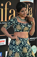 Lakshmi in a Crop Top Choli Ghagra  at IIFA Utsavam Awards 2017  Day 2 at  12.JPG