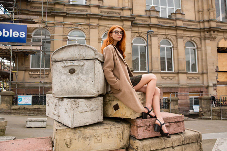 30 Stunning Pictures From All Over The World That Prove The Unique Beauty Of Redheads - Tara In Liverpool, England