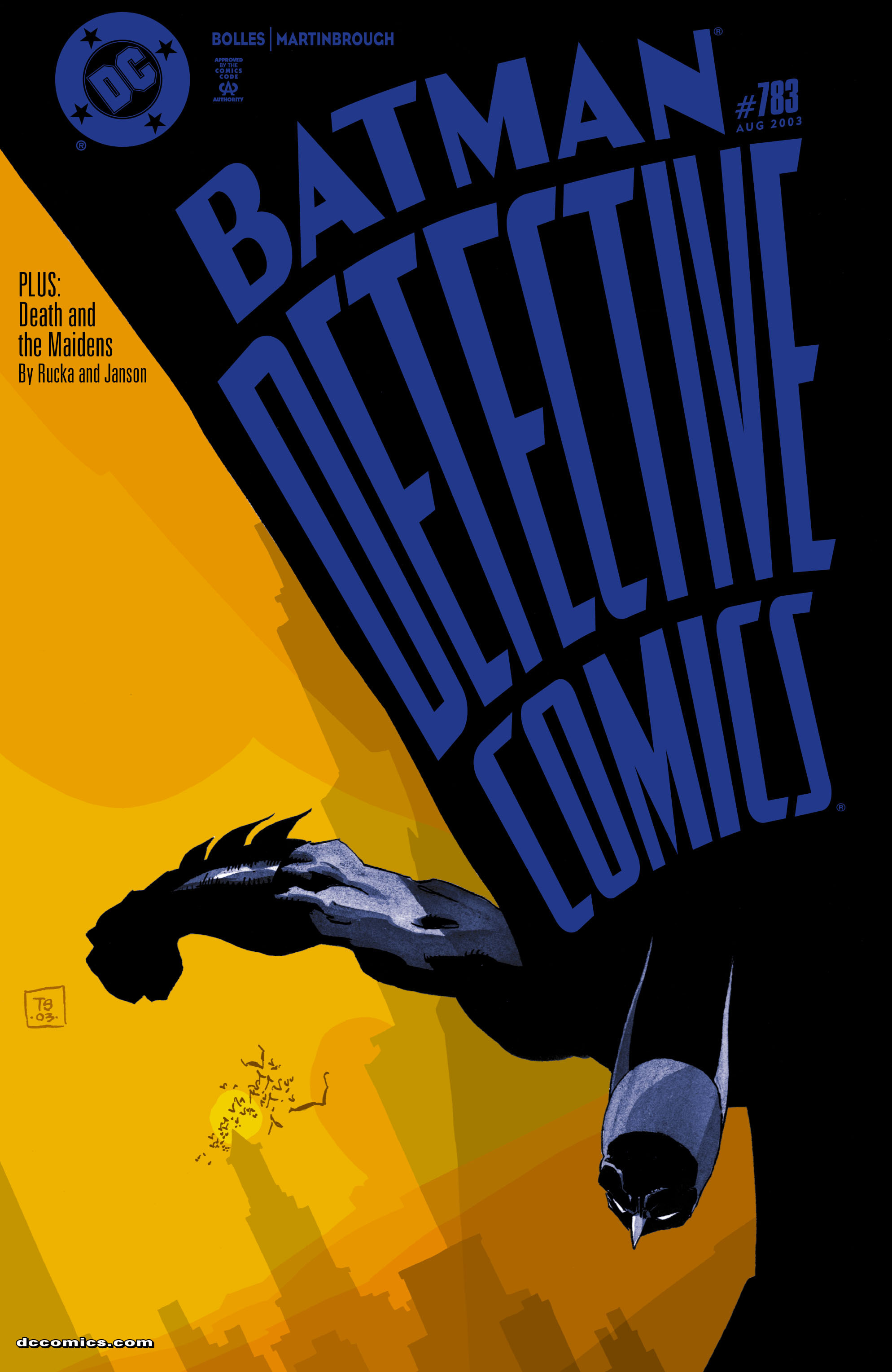 Detective Comics (1937) 783 Page 1