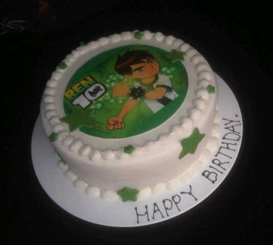 Cake Factory: Ben 10 Birthday Cake