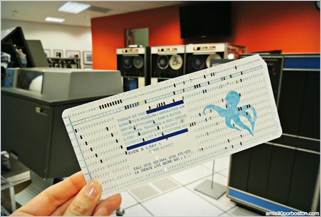 Computer History Museum: IBM 1401 Demo Lab