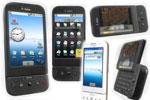 Diferentes dispositivos móviles