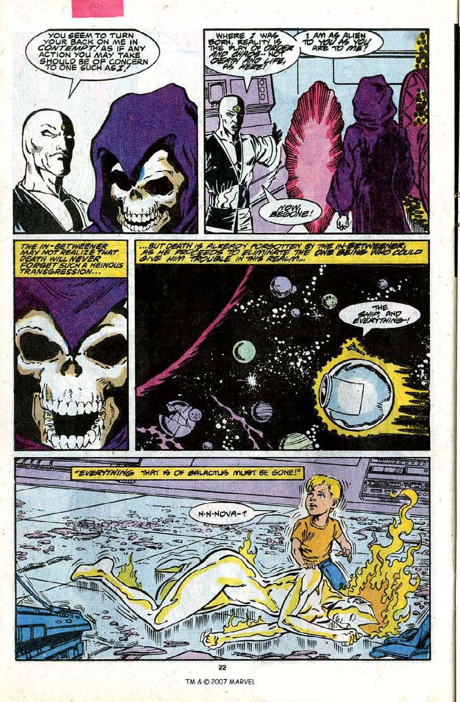Read online Silver Surfer (1987) comic -  Issue #17 - 24
