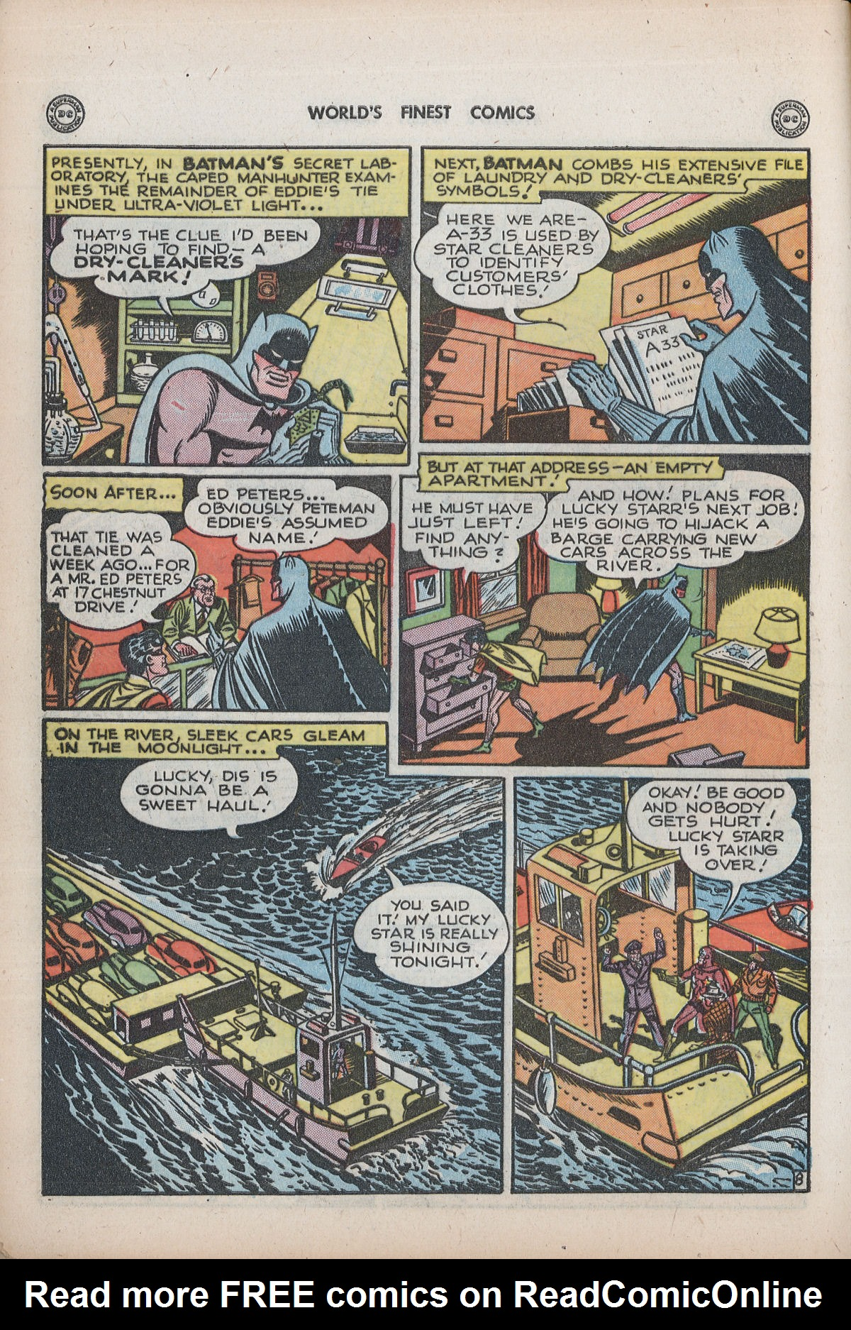 Read online World's Finest Comics comic -  Issue #32 - 10