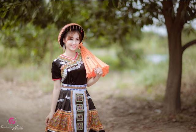 A Hmong Woman