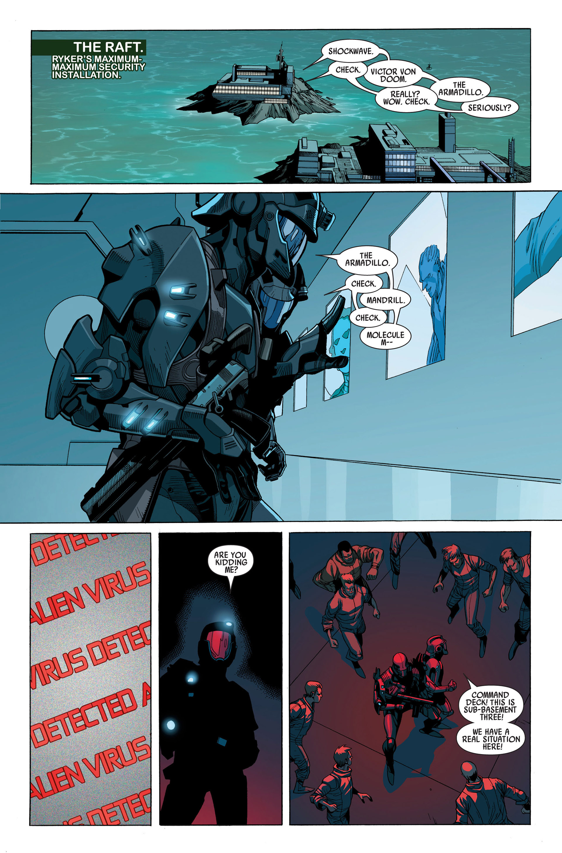 Read online Secret Invasion comic -  Issue #1 - 24