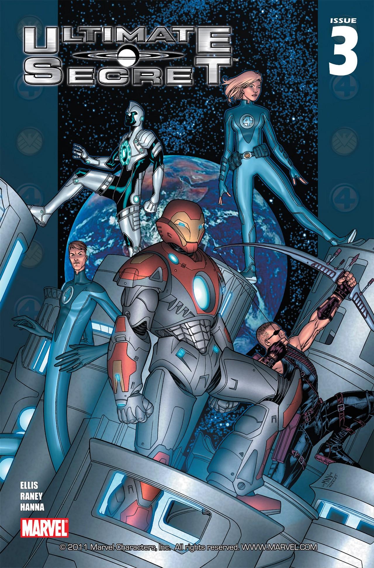 Read online Ultimate Secret comic -  Issue #3 - 1