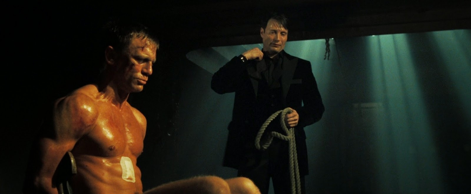 Casino royale film set burns down space lasers ruled out new images