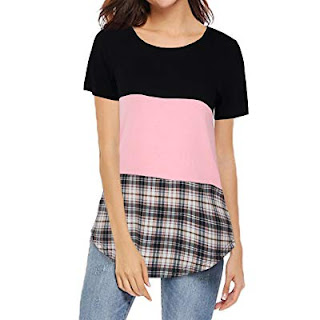 Buy Amazon High Review  Womens Short Sleeve T Shirt