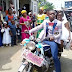 Just Love: Groom Carries Bride On Okada On Wedding Day